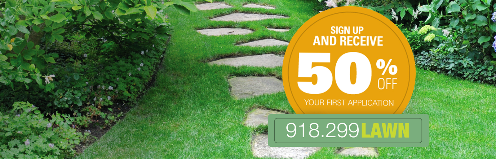 YOUR PATH TO A GREENER LAWN